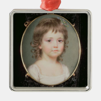Miniature of Dorothy Capper Silver-Colored Square Decoration