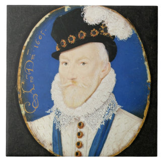 Miniature of Lord Howard of Effingham Tile