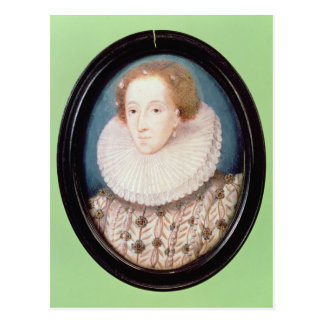 Miniature of Queen Elizabeth I Postcard