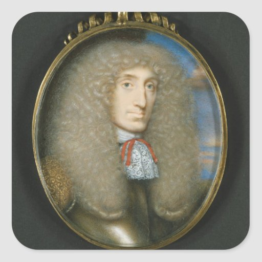 Miniature of Robert Kerr, 4th Earl of Lothian, 166 Square Stickers
