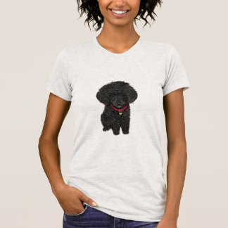 Miniature or Toy Poodle - Black 1 T-Shirt