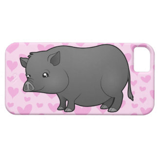 Miniature Pig Love Barely There iPhone 5 Case