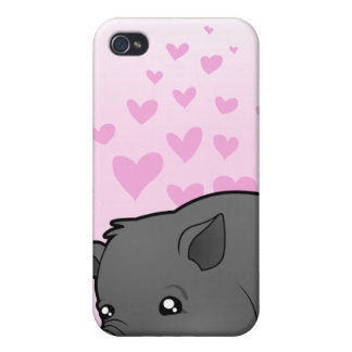 Miniature Pig Love Case For iPhone 4