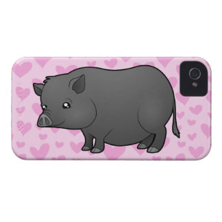 Miniature Pig Love Case-Mate iPhone 4 Case