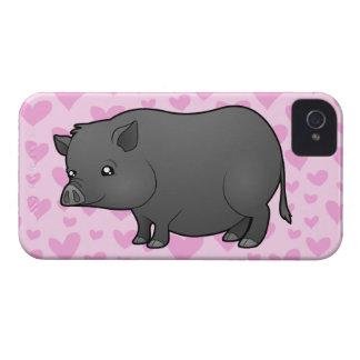 Miniature Pig Love Case-Mate iPhone 4 Case