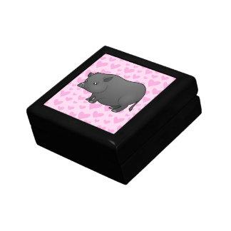 Miniature Pig Love Gift Box