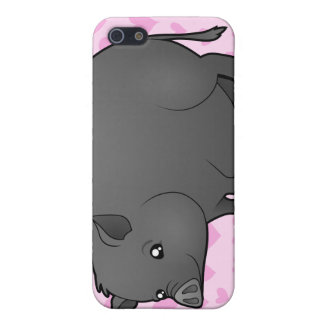 Miniature Pig Love iPhone 5/5S Covers