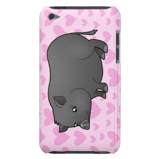 Miniature Pig Love iPod Touch Cover