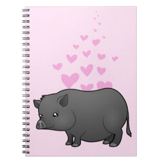 Miniature Pig Love Notebooks