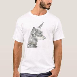 Miniature pin shear T shirt