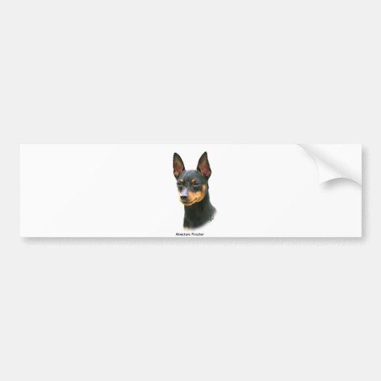 Miniature Pinscher Bumper Sticker