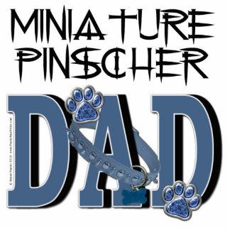 Miniature Pinscher DAD Standing Photo Sculpture