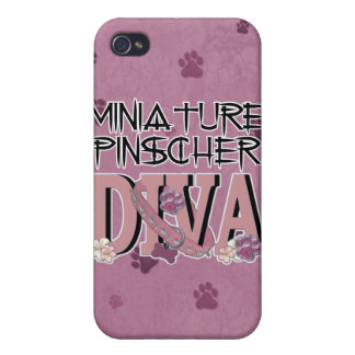Miniature Pinscher DIVA Covers For iPhone 4