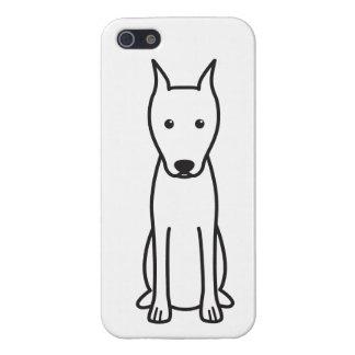 Miniature Pinscher Dog Cartoon iPhone 5 Cases