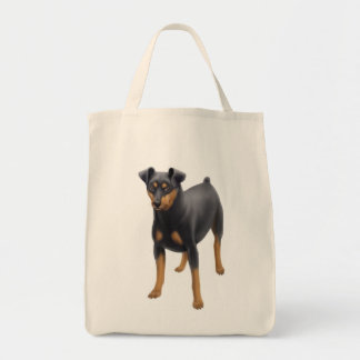 Miniature Pinscher Grocery Tote