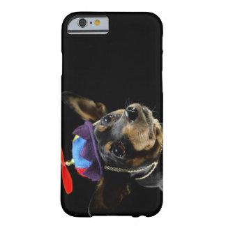 Miniature Pinscher in costume. Barely There iPhone 6 Case
