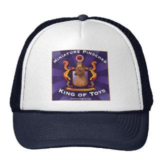 Miniature Pinscher, King of Toys Hats