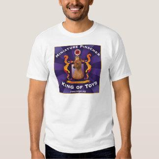 Miniature Pinscher: King of Toys T Shirts