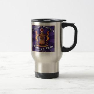 Miniature Pinscher, King of Toys Travel Mug