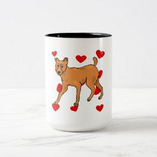 Miniature Pinscher Love Coffee Mug