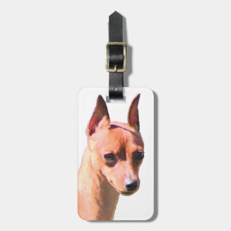 Miniature Pinscher Tags For Luggage