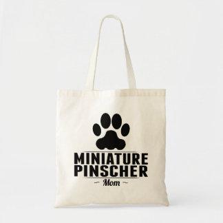 Miniature Pinscher Mom Budget Tote Bag