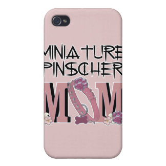 Miniature Pinscher MOM Cases For iPhone 4