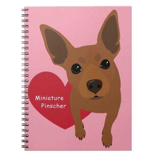 Miniature Pinscher Notebook