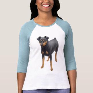 Miniature Pinscher Raglan Jersey Tshirt