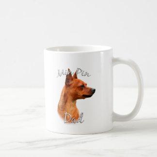 Miniature Pinscher (rust) Dad 2 Coffee Mug