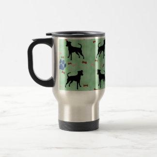 Miniature Pinscher Shadow Coffee Mug