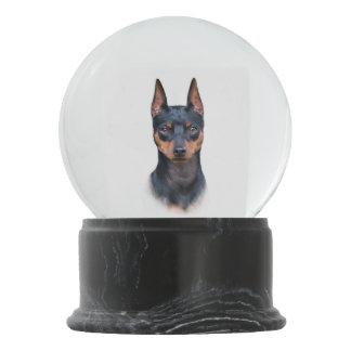Miniature Pinscher Snow Globes