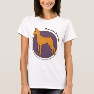 Miniature Pinscher, Stag Red T-Shirt