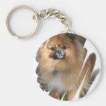 Miniature Pomeranian Keychain