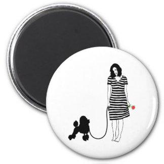 Miniature Poodle Magnet