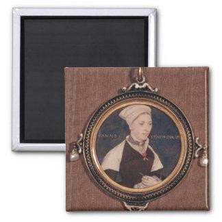 Miniature portrait of Jane Small Fridge Magnet