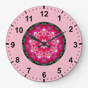 Miniature Round Wall Clocks Zazzle Uk
