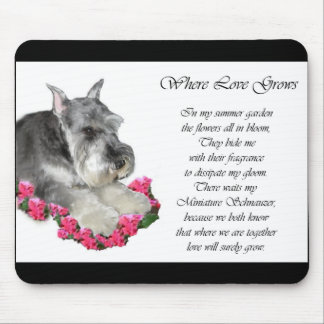 Miniature Schnauzer Art Gifts Mouse Mat
