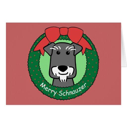 Miniature Schnauzer Christmas Cards