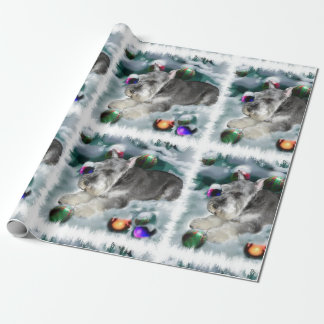 Miniature Schnauzer Christmas Wrapping Paper