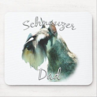 Miniature Schnauzer Dad 2 Mouse Pad