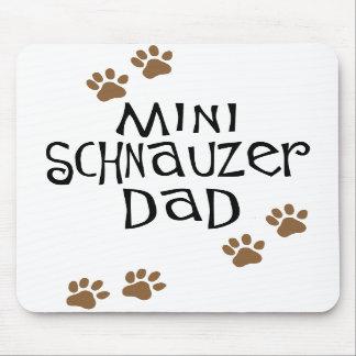 Miniature Schnauzer Dad Mouse Mat