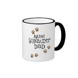 Miniature Schnauzer Dad Coffee Mug