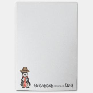 Miniature Schnauzer Dad Post-it® Notes
