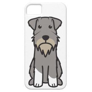 Miniature Schnauzer Dog Cartoon iPhone 5 Cases