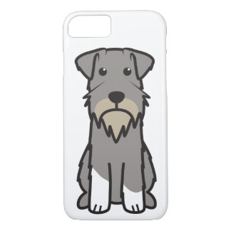 Miniature Schnauzer Dog Cartoon iPhone 7 Case