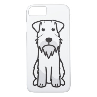 Miniature Schnauzer Dog Cartoon iPhone 8/7 Case
