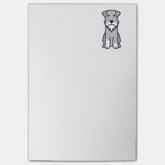 Miniature Schnauzer Dog Cartoon Post-it Notes