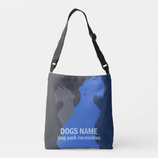 Miniature Schnauzer Dog DIY Custom Crossbody Bag