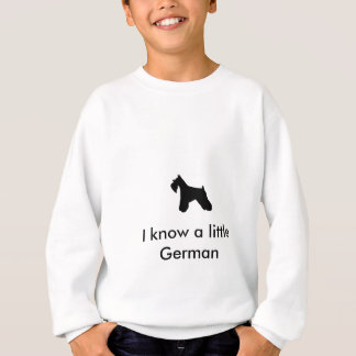 Miniature Schnauzer Dog Sweatshirt